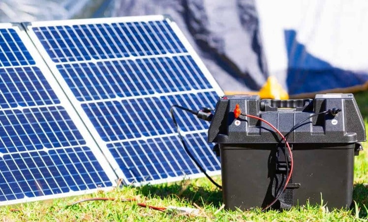 About Solar Panel Battery